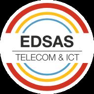 EDSAS zakelijk glasvezel Oss logo